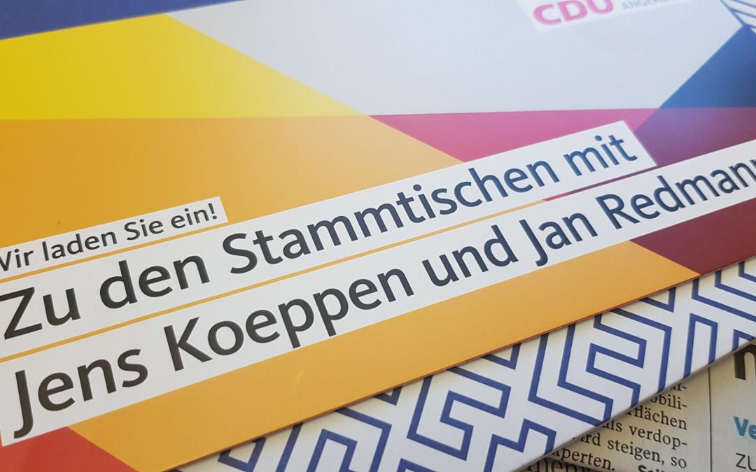 Stammtisch der CDU Angermünde