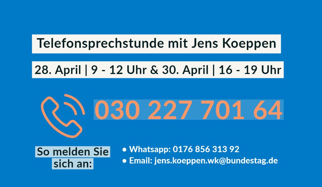 """""""Auf ein Wort!"""" mit Jens Koeppen"""