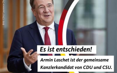 Eine Union – Zusammen in den Wahlkampf für Deutschland