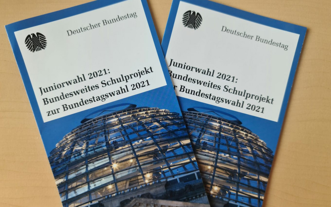 Juniorwahl 2021: Bundesweites Schulprojekt zur Bundestagswahl 2021